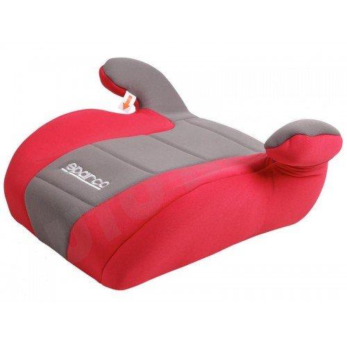 Детско столче за кола Sparco 15-36kg,червено/сив