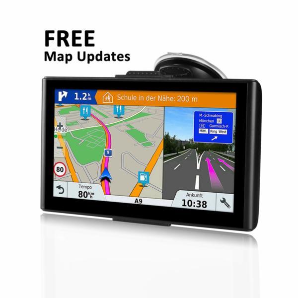 """GPS навигация 7"""" за кола и камион RAM 256 4GB HD"""