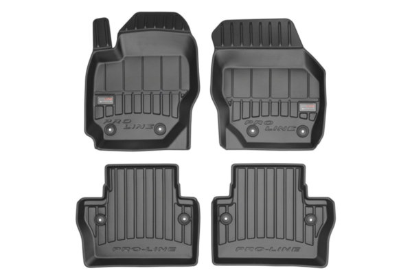 3D гумени стелки Frogum за Volvo V70 III 2007-