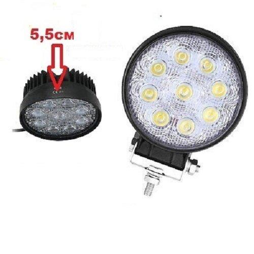 Халоген LED 27W кръгъл