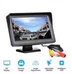 Монитор LCD -дисплей за камера за камера