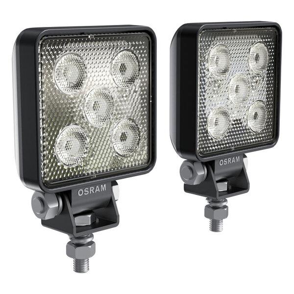 Комплект 2 броя квадратни LED барове Osram 97x73x31mm, 6000K