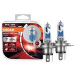 Комплект 2 халогенни крушки Osram H7 Night Breaker Laser, +130%, 12 V