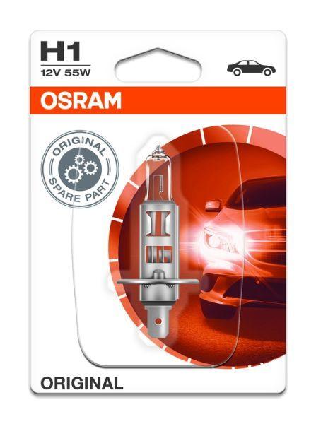 Халогенна крушка за фар Osram H1 Standard, 12V, 55W, 1 брой
