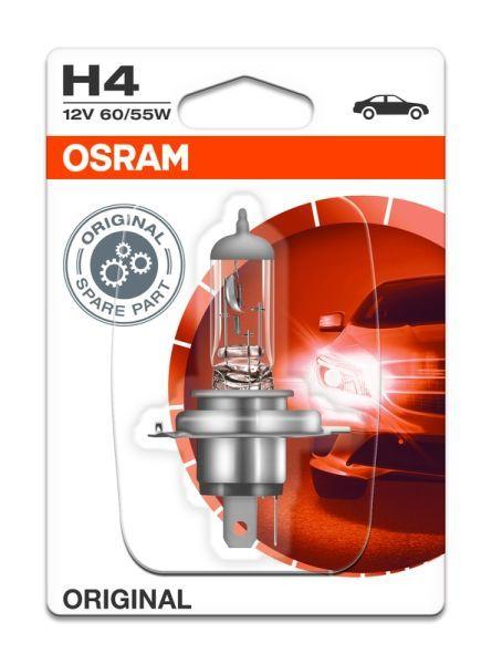 Халогенна крушка за фар Osram H4 Standard, 12V, 55W, 1 брой