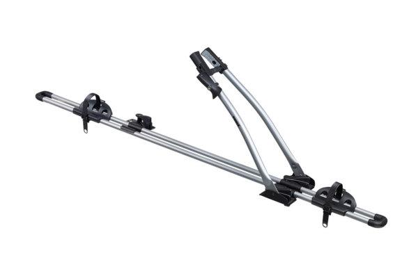 Стойка за велосипеди THULE FreeRide 532, Захващане за напречни греди