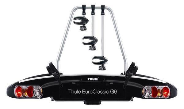 Стойка за велосипеди за теглич - 3 велосипеда THULE EuroClassic G6 LED