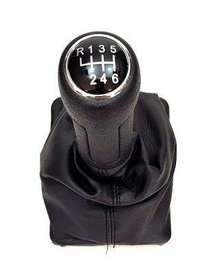 Топка скоростен лост с маншон за Audi A6 2002-2006 - 6 скорости