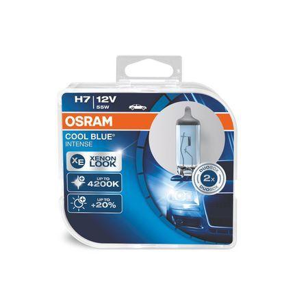 Комплект 2 броя халогенни крушки Osram H7 Cool Blue Intense 12V, 55W
