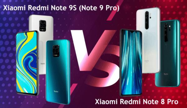 Xiaomi Redmi Note 9S (Note 9 Pro) срещу Xiaomi Redmi Note 8 Pro