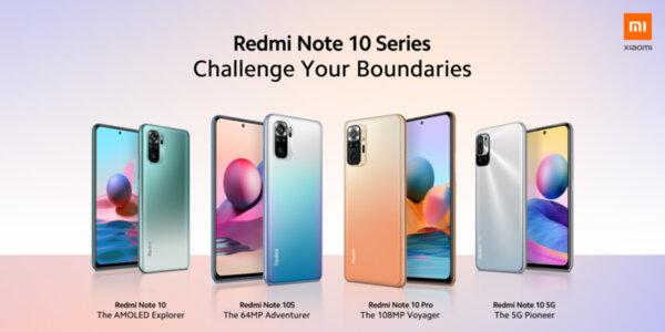 Новите смартфони Xiaomi - Redmi Note 10, Redmi Note 10S, Redmi Note 10 Pro, Redmi Note 10 5G