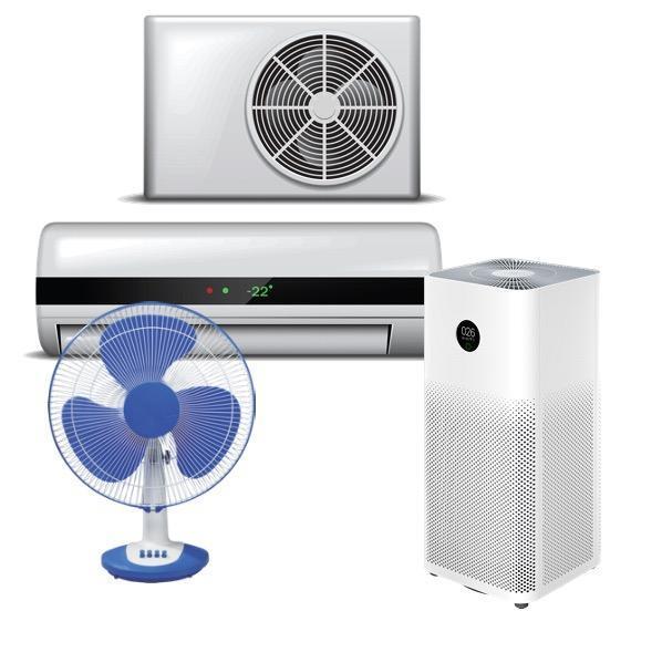 Уреди за отопление, охлаждане и грижа за въздуха
