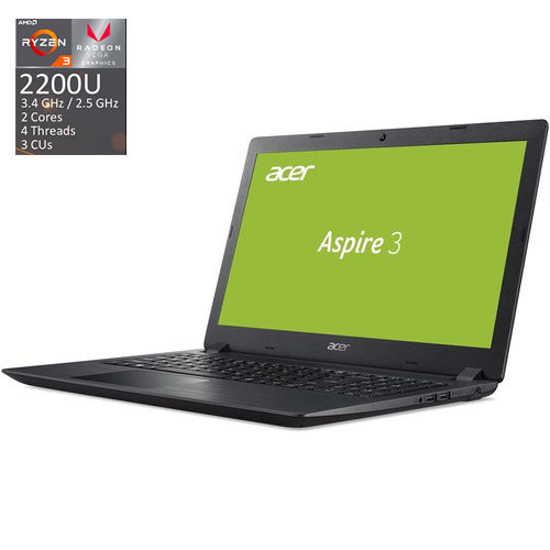 "PROMO BUNDLE (NB+ПОДАРЪК NB STARTER KIT) NB Acer Aspire 3 A315-41G-R1N2/15.6"" FHD Antiglare/ AMD DUAL Core Ryzen™ 3 2200U (2.5GHz - 3.4GHz, 1MB L2 Cache) Video Radeon™ 535 2GB DDR5/8GB(1x8GB"