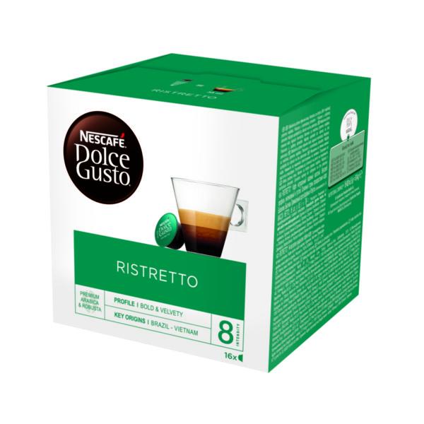 NESCAFÉ® Dolce Gusto® Ristretto кафе капсули, 16 напитки.