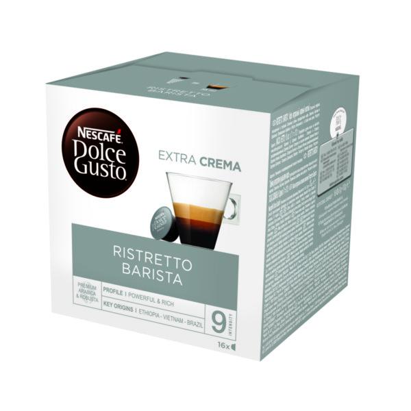 NESCAFÉ® Dolce Gusto® Ristretto Barista кафе капсули, 16 напитки.