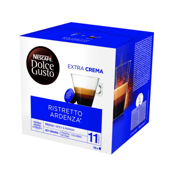 NESCAFÉ® Dolce Gusto® Ristretto Ardenza® кафе капсули, 16 напитки.