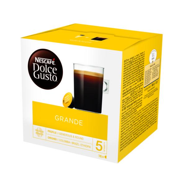 NESCAFÉ® Dolce Gusto® Grande кафе капсули, 16 напитки.