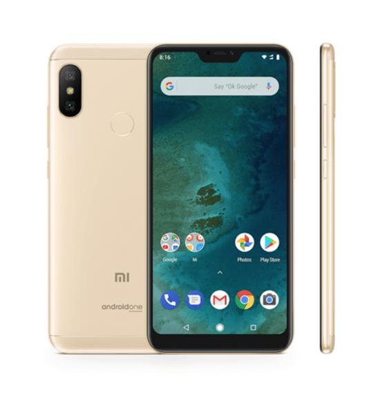 Xiaomi Mi A2 Lite, Dual, 32gb, Gold