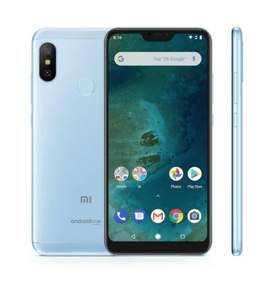 Xiaomi Mi A2 Lite, Dual, 64gb, Blue