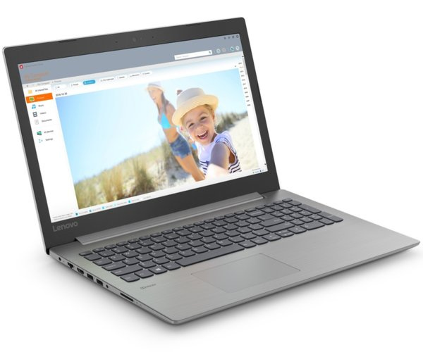 "Lenovo IdeaPad 330 15.6"" HD Antiglare N5000 up to 2.7GHz QuadCore, 4GB DDR4, 128GB SSD, HDMI, Gigabit, WiFi, BT, HD cam, Platinum Grey"