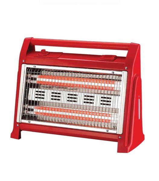 Кварцова печка Elekom EK-904, висококачествени кварцови нагреватели, мощност 1600 W