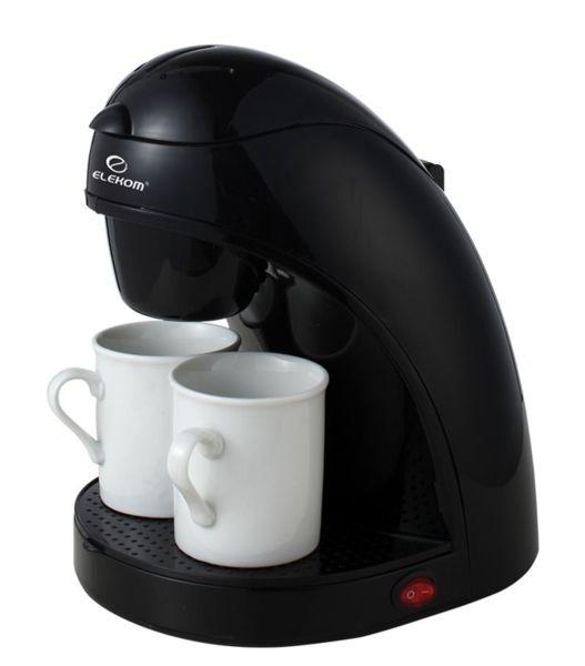 Кафемашина Elekom EK-8008 с филтър за многократна употреба, мощност 450 W