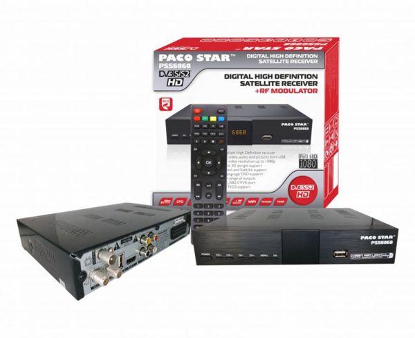 HD Сателитен DVB-S/S2 приемник PACOSTAR- PSS6868, с RF модулатор