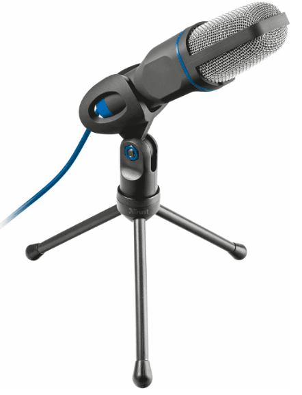 Микрофон Trust Mico, USB, Черен