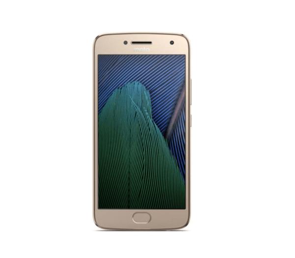 Motorola Moto G5, 16GB, Dual SIM, Gold