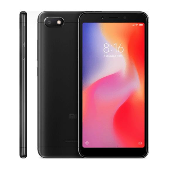Xiaomi Redmi 6A, 16GB, Dual SIM, Black