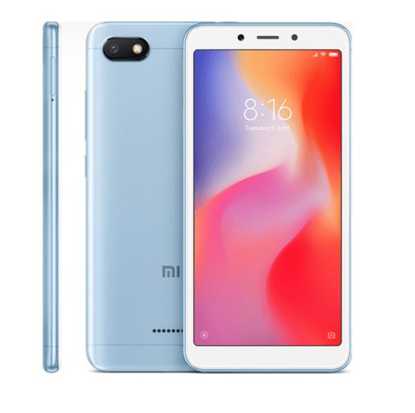 Xiaomi Redmi 6A, 16GB, Dual SIM, Blue