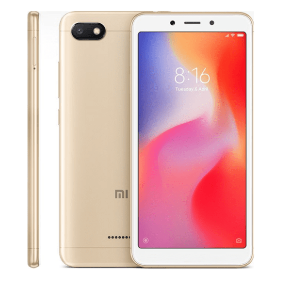 Xiaomi Redmi 6A, 16GB, Dual SIM, Gold