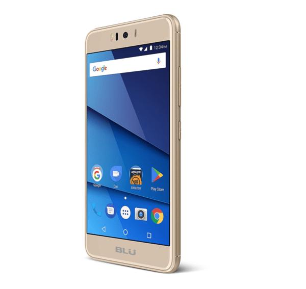 BLU R2, Dual SIM, 16GB, 4G, Златен