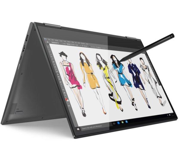 Lenovo Yoga 730 15.6 FullHD IPS Antiglare Touch i7-8550U up to 4.0GHz Quad Core, GTX 1050 4GB, 8GB DDR4, 512GB SSD m.2, Backlit KBD, Fingerprint Reader, USB-C, WiFi, BT, HD cam, Iron Grey, Wi