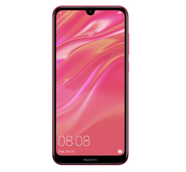 Huawei Y7 2019, Dual SIM, 32GB, Coral red