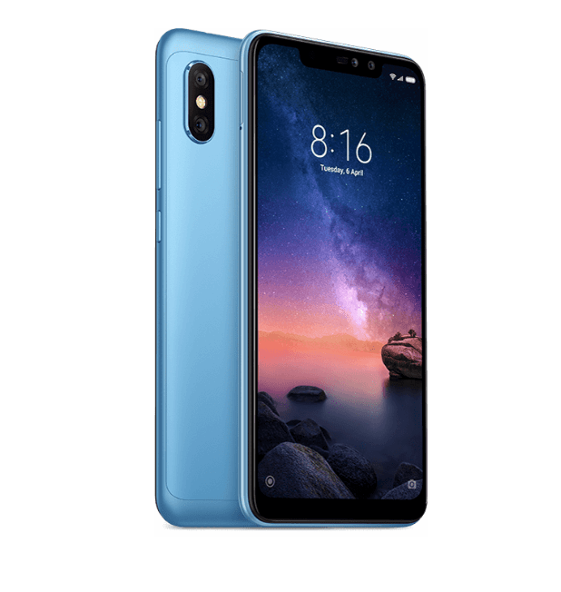 Xiaomi Redmi Note 6 Pro, 32GB, Dual Sim, Black-Copy