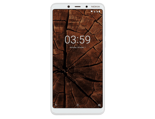 Nokia 3.1 Plus, Dual SIM, 32GB, White