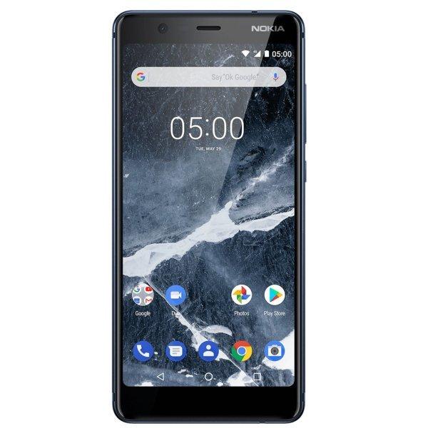 Nokia 5.1, Dual SIM, 16GB, Blue