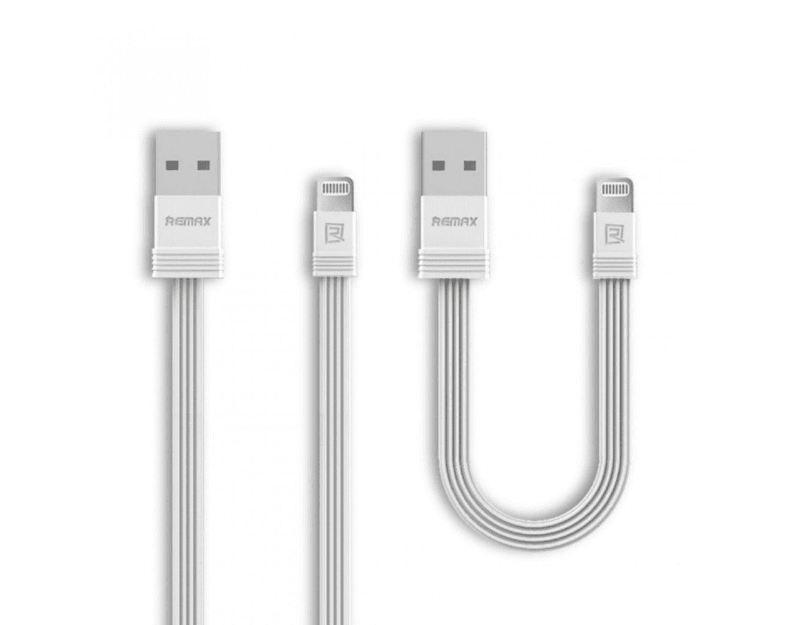 Remax Tengy, Apple Lightning към USB, 1м, Бял