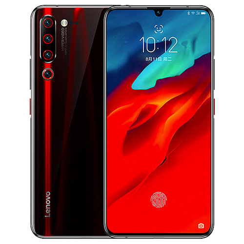 Lenovo Z6 Pro, Dual SIM, 128GB, Black/Red