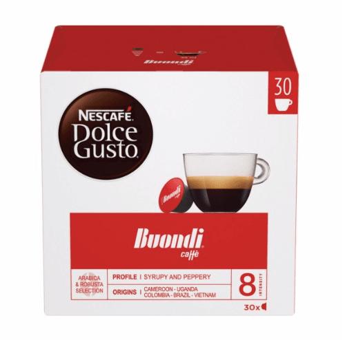 NESCAFÉ® Dolce Gusto® Buondi® Magnum кафе капсули, 30 напитки.
