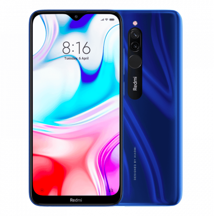Xiaomi Redmi 8, Dual SIM, 32GB, Sapphire Blue