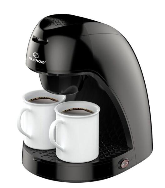 Кафемашина Elekom EK-8008 N, самоизключване при кипене, мощност 450 W