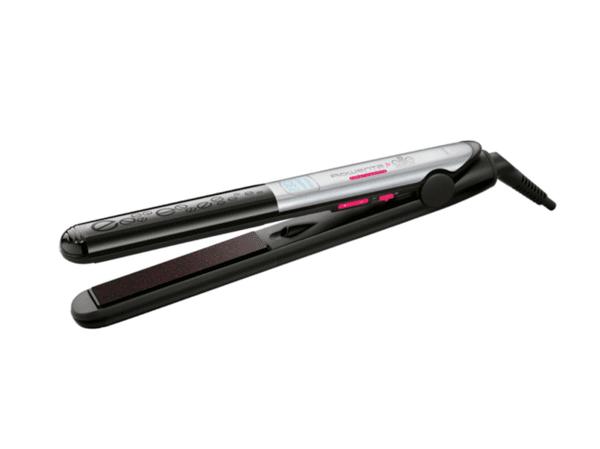 Преса за коса Rowenta Liss & Curl Keratin & Shine, 230 градуса, LCD