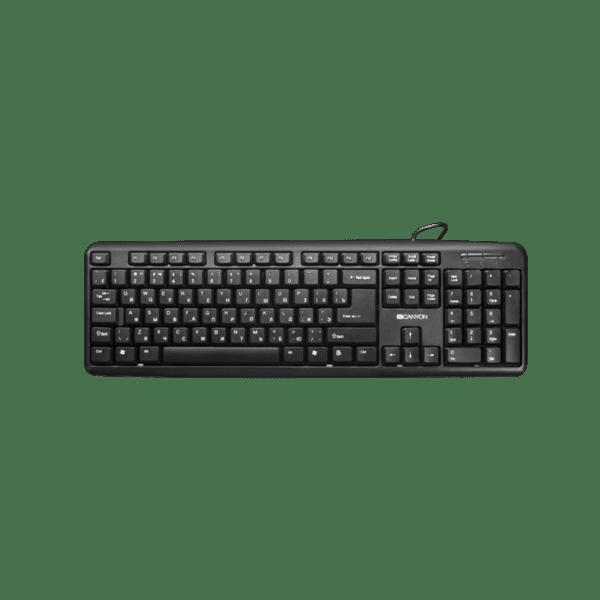 Клавиатура Canyon CNE-CKEY01-BG