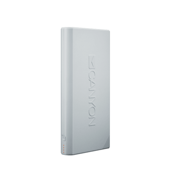 Външна батерия 16000mAh Canyon CNE-CPBF160, бял