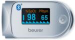 Beurer Уред за измерване на пулс и кислород в кръвта -Графичното показване на пулса, цветен дисплей, 100 позиции за запаметяване на измерванията, Bluetooth®, Beurer HealthManager App-Copy