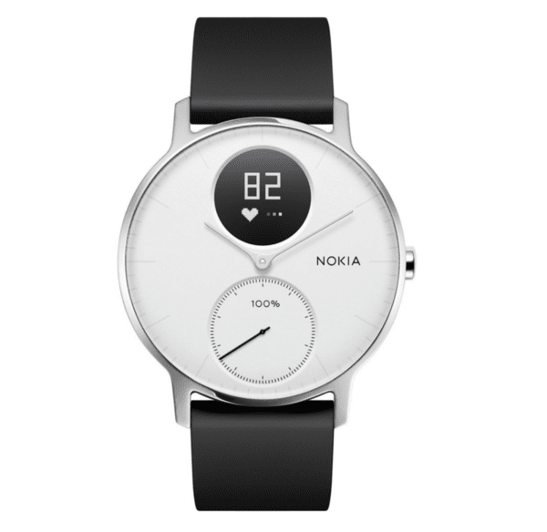 Смарт часовник Nokia Withings Steel HR 36mm, White