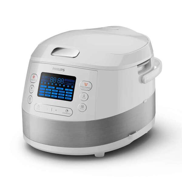 Многофункционален уред за готвене Philips Viva Collection 3D функция за нагряване, Поетапно готвене 5л