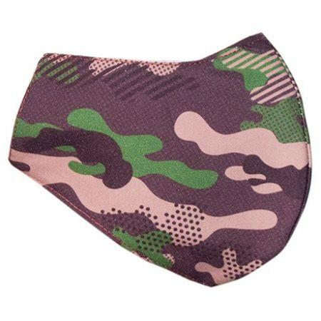 Маска от памучен плат за многократна употреба, армия